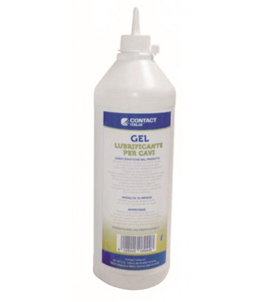 Gel lubrificante per cavi 1 lt Contact