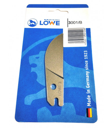 Lowe 3001/B Blade in a blister for shear 3101 and 3104