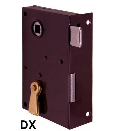 Serratura meccanica, verticale da applicare con scrocco e catenaccio Art. 185 Bonaiti