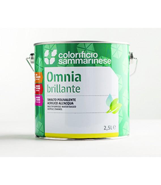 Smalto acrilico all'acqua Bianco Omnia Colorificio Sammarinese