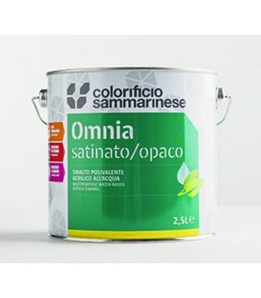 Smalto polivalente acrilico all'acqua Omnia Satinato/Opaco Colorificio Sammarinese