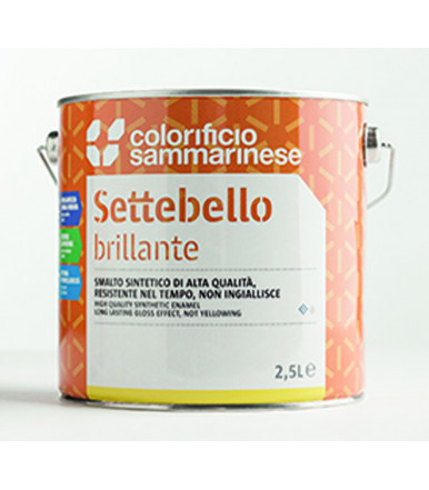 Colorificio Sammarinese multi-purpose satin waterborne acrylic enamel Omnia Satinato/Opaco