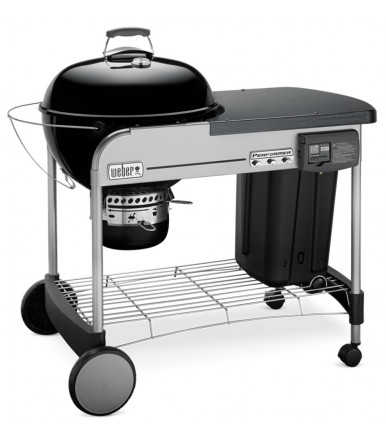 Barbecue a carbone Weber Performer Deluxe Ø 57 Black Gbs