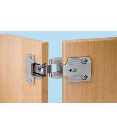 Bisagra brazo angular para muebles, agujero 35 mm 344.06.010