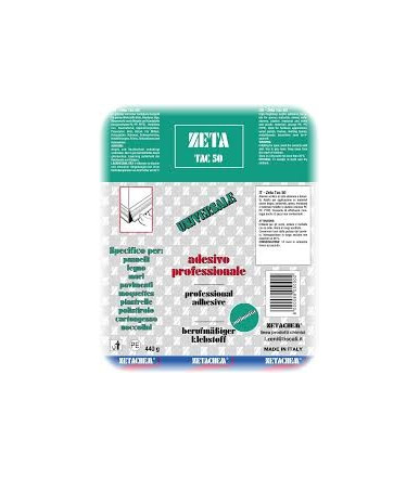 Adesivo universale professionale di montaggio ZETA TAC 50