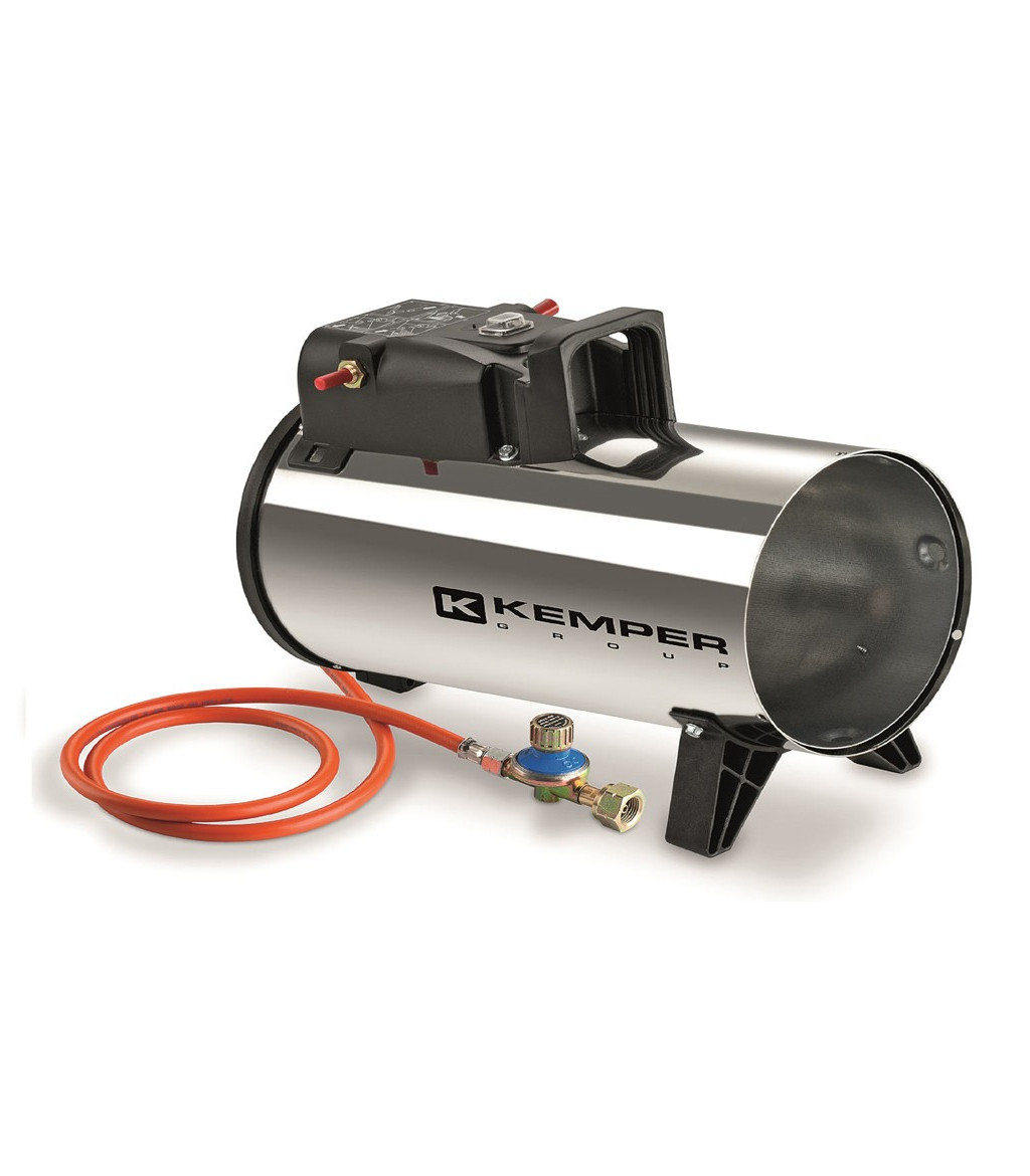 Kemper Group Hot Air Generator Butane Propane Gas From 11 To 18 Kw Hot Air Generators Line
