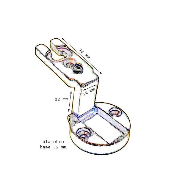 Cerniere per porte mobile in luce Anselmi Art.232.66