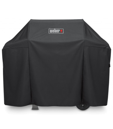 Weber Premium Grill Cover for Weber Spirit and Spirit II Series 300 and Spirit Series 200 with side mounted controls