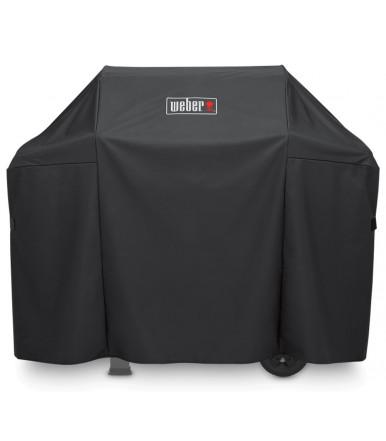 Weber Abdeckhaube Premium für Weber Spirit und Spirit II Serien 300 und Spirit Serien 200 mit seitlichen Gasreglern