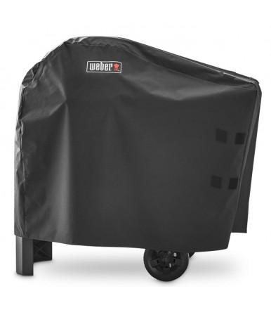 Weber Abdeckhaube Premium für Weber Pulse 1000/2000 mit Rollwagen