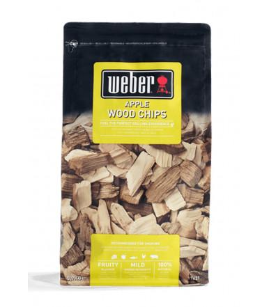 Chips di legna per affumicatura - Mela Weber 17621