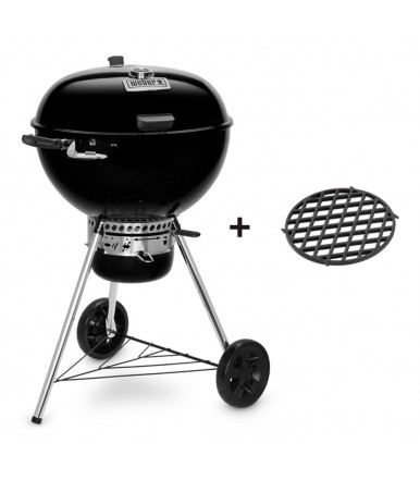 Weber Master-Touch GBS Premium E-5775 Charcoal Barbecue 57 cm Black