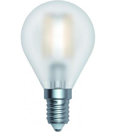 SkyLighting - satin globe LED lamp - 4W E14 4200K Series Filament Led