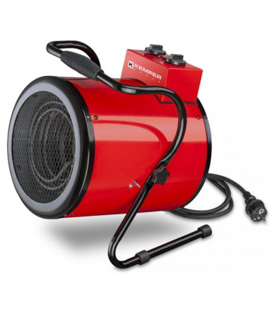 Generatore aria calda elettrico da 3 kW Linea generatori d'aria calda Kemper Group