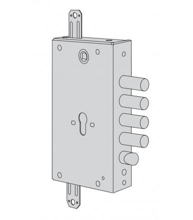 Cisa B6515 Revolution cerradura de cilindro para puertas acorazadas con mecanismo de cremallera