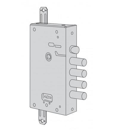 Serratura a doppia mappa, Standardlock per porta blindata Cisa 57515