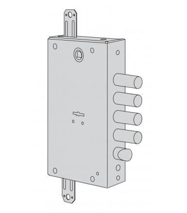Serratura a doppia mappa, Standardlock per porta blindata Cisa B7515