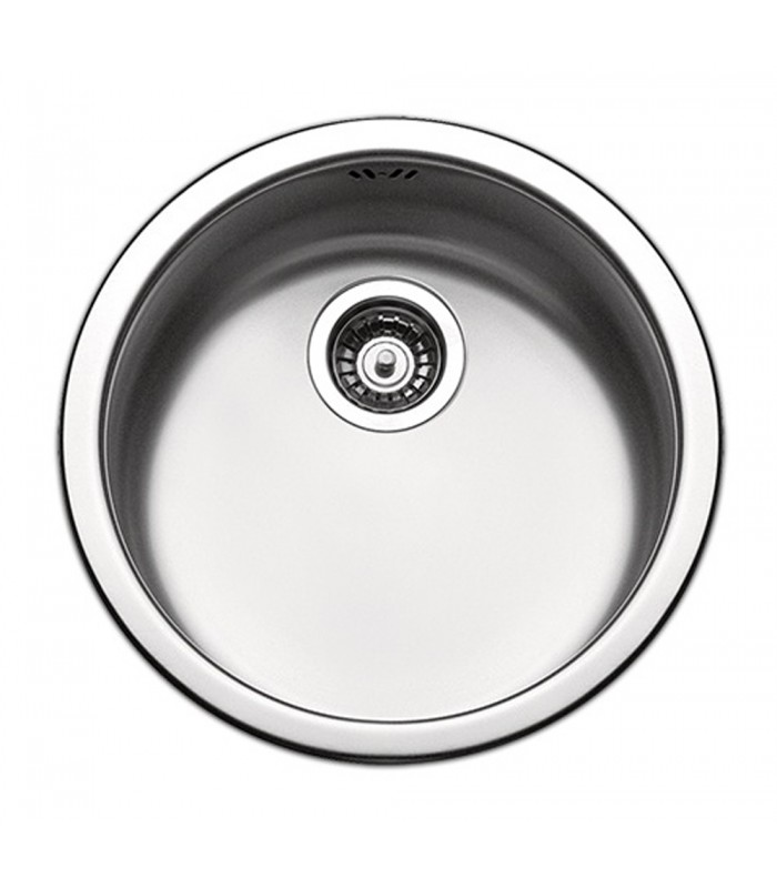Apell series Circum CIVIIBC Round Kitchen sink steel, basin 375 mm