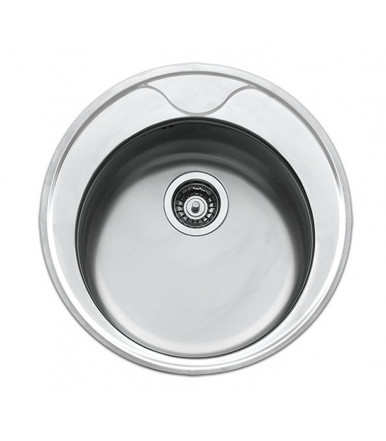 Apell series Circum CIVIFRIPC Round Kitchen sink steel
