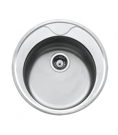 Lavello tondo da cucina in acciaio CIVIFRIPC Serie Circum Apell