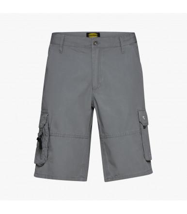 Pantalone bermuda Diadora Utility Wonder II Grigio Penombra