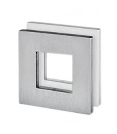 Maniglia acciaio inox a filo per vetro senza foro art.IN.16.550.A JNF