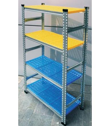 Simply Super Kit Metal interlocking shelf for light and medium-light storage