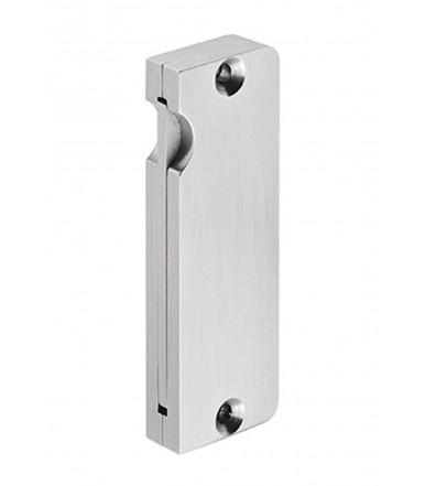 Cazoleta de embutir con manilla retráctil de acero inoxidable para puerta corredera art.IN.16.317.R JNF