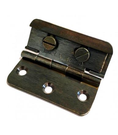 art. 3 A.R Patentiertes verstellbares, halb geschwungenes Scharnier aus Bronze