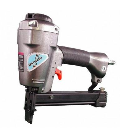 Fissatrice pneumatica BM500 adatta ad unioni di angoli legno cornici e telai