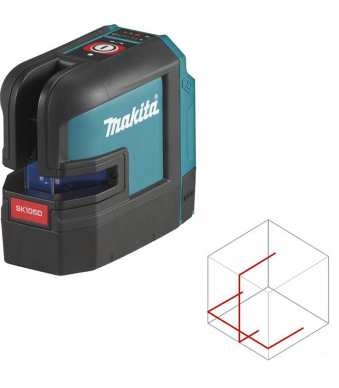 sk105dz Solo lignes laser laser Makita Batterie-croix lignes laser 12 Vmax