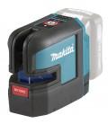 Tracciatore laser 25 m 2 linee/4 punti rossi a batteria 12Vmax Makita SK106DZ
