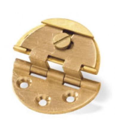 art. 4 C Round, Patented adjustable round brass hinge with round case