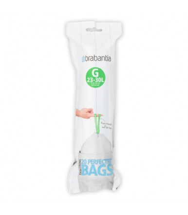 Roll of 20 waste bags for Brabantia Perfectfit G 23-30 Liters