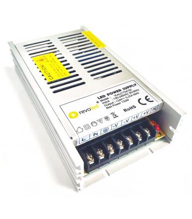 Alimentatore Ultraslim alluminio da 150 W 24 V con uscita a tensione costante Revoled