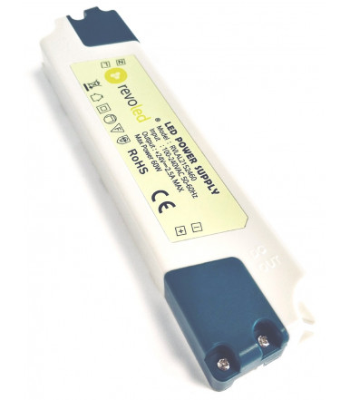 Revoled Plastic power supply Ultraslim 60 W 24 V