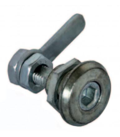 O.M.R. cerradura universal cabeza cuadrada con palanca plana
