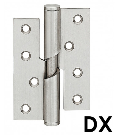 Butt Hinge Falling Stainless Steel 102x76 mm 926.26.203