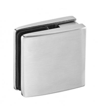 Supporto reggipiano regolabile a morsetto in acciaio inox per vetro spessore 13-18 mm art.IN.80.010.18 JNF