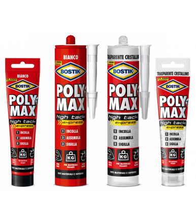 Bostik Poly Max High Tack express adhesive and sealant