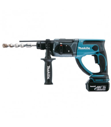 Makita DHR202RMJ rotary hammer 3 functions SDS Plus