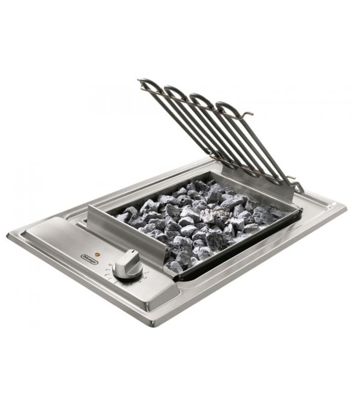 Piano cottura Domino Barbecue in acciaio inox da 30 cm De\' Longhi ...