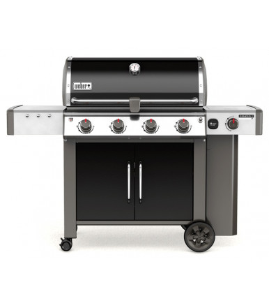 Weber Gas Barbecue Genesis II LX E-440 GBS Black