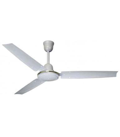Ventilatore a soffitto professionale in metallo Bianco 140 CFG