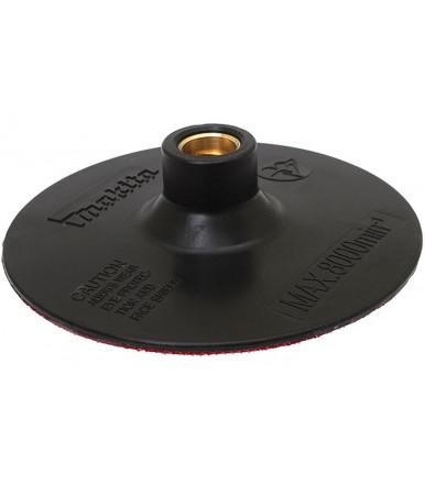 Platorello-base velcrata Ø 115 mm 743060-6 per smerigliatrice Makita