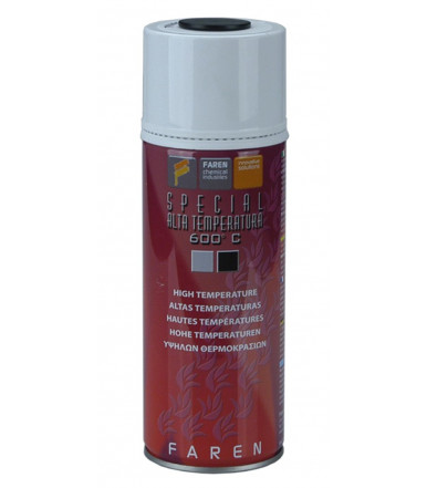 Faren Art.7V ALTA TEMPERATURA Esmalte Spray a base de silicona