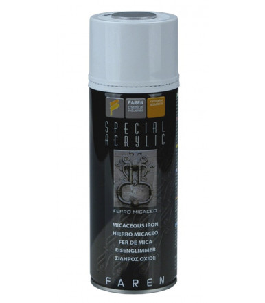 Faren Art.FEMI7V MICACEOUS STEEL acrylic enamel spray for ferrous surfaces