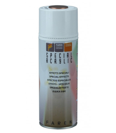 Faren Art.METAL7V METALLIC Acrylic enamel Spray with metalised effects