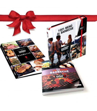 The Barbecue Chef + The Weber Bible + 1001 Barbecue menus