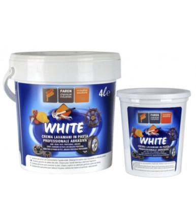 Faren Art.WHITE Crema densa para la limpieza de manos de color blanco